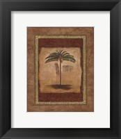 Framed Palm Botanical Study II - special