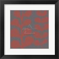 Framed Maidenhair Coral Stem (double)