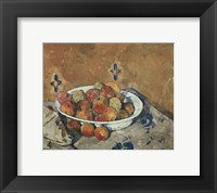 Framed Plate of Apples, c. 1897