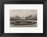 Framed French Pavilion at Versailles