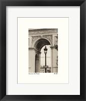 Framed Lamp Inside Arc de Triomphe