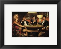 Framed Four of a Kind