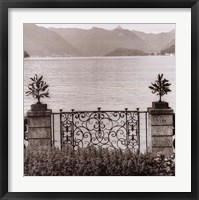 Bellagio Vista Framed Print