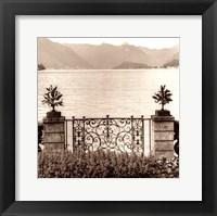 Framed Bellagio Vista