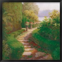 Framed Garden Walkway