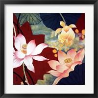 Framed Lotus Dream II