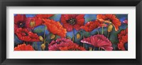 Framed Poppy Parade