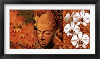 Buddha Panel II Framed Print