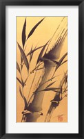 Bamboo's Strength Framed Print