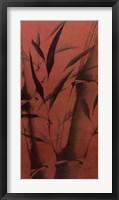 Bamboo's Calm Framed Print