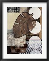 Global Patterns II Framed Print