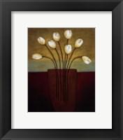 Framed Tulips Aplenty I