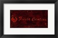 Fiesta Cantina Framed Print