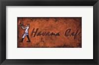 Havana Cafe Framed Print