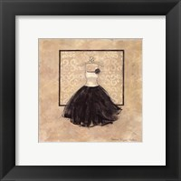 Take Me Dancing III (b&w) Framed Print