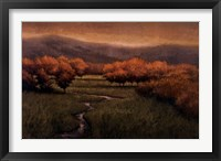 Morning Fescue Framed Print