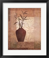 Framed Bamboo Shadow I