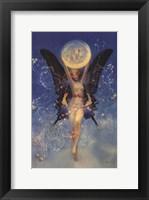 Framed Moon Fairy