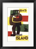 Framed Easter Island