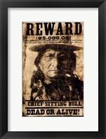 Framed Sitting Bull