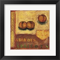 Framed Abricots