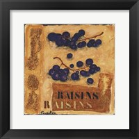 Framed Raisins