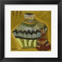 Framed Ceramiques Marocaines III