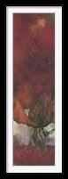 Framed Rose Rouge I