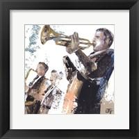 Le Trompettiste Framed Print