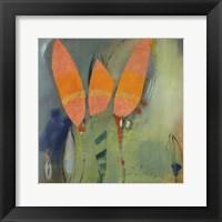 Knospen Und Blüten II Framed Print