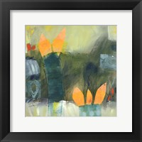 Knospen Und Blüten III Framed Print