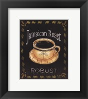 Jamaican Roast Framed Print
