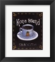 Kona Blend Framed Print