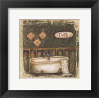 Bath Framed Print