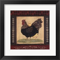 Framed Cottage Hen