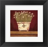 Framed Petit Fleur III