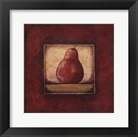 Pear II Framed Print