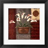 Symphony In White I Framed Print