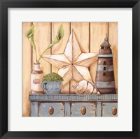 Framed Coastal Cupboard I