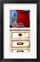 Cape Red I Framed Print