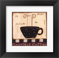 Framed Gourmet Coffee
