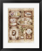 Framed Spring Sampler