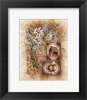 Framed Forget-Me-Nots