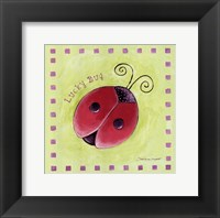 Lucky Bug Framed Print