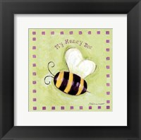 My Honey Bee Framed Print