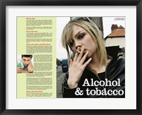 Framed Alcohol & Tobacco