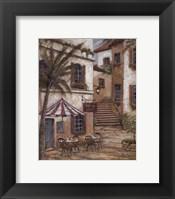 Vino y Queso Framed Print