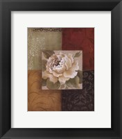 Framed Beautiful as Peonies II