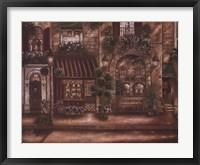 Gourmet Shoppes I Framed Print