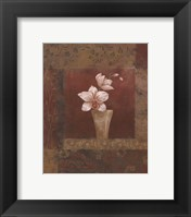 Framed Blush Orchid II